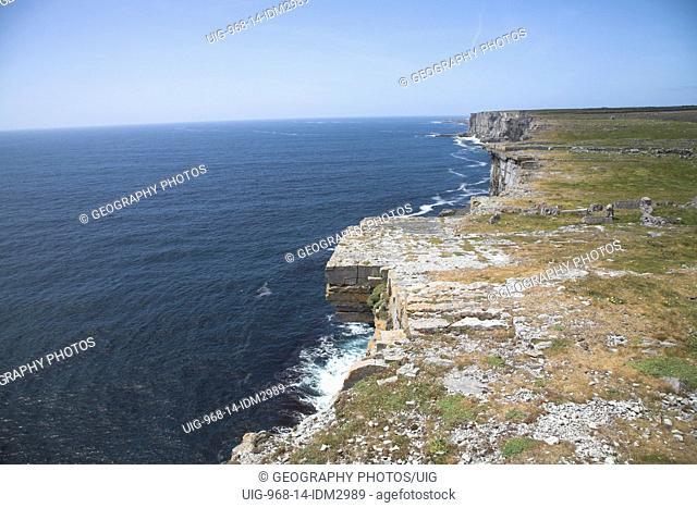 D'n Aengus fort Inishmore, Aran Islands, County Clare, Ireland