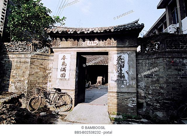 Old house in Yongchang, Yongchang County, Wenzhou City, Zhejiang Province, People's Republic of China