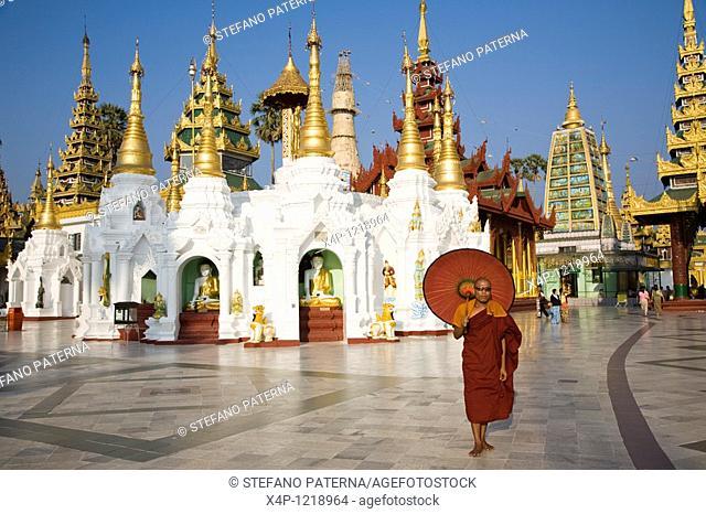 Shwedagon-Pagoda, Yangon, Myanmar