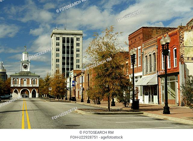 Fayetteville, NC, North Carolina, Downtown