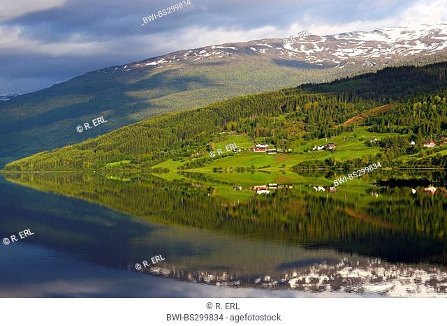Vangsvatnet Lake, Norway