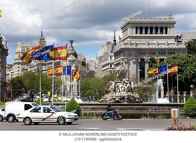 Gran Via, Madrid Spain