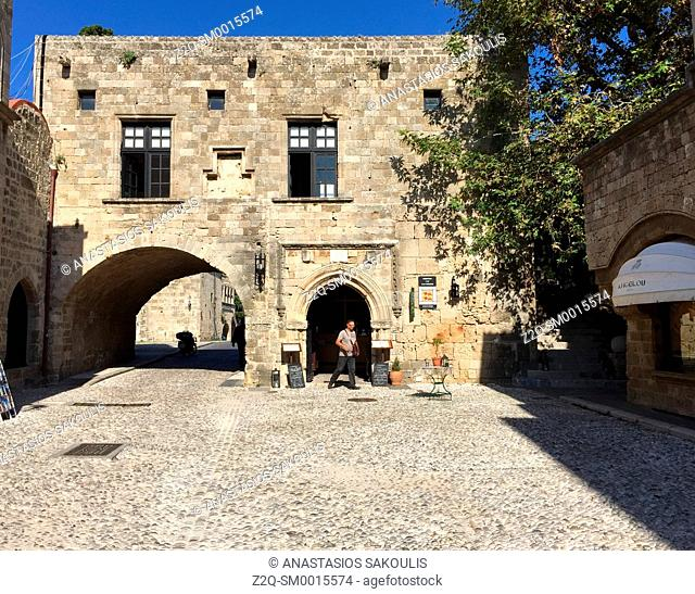 Old Town of Rhodes World Heritage City, UNESCO, Greece