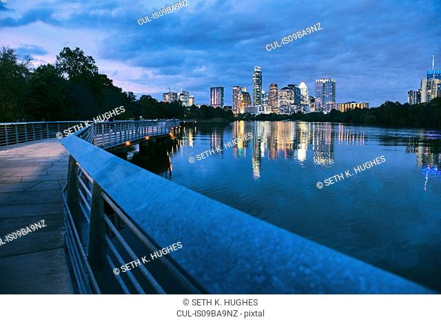 Lady Bird Lake, Austin, Texas, USA