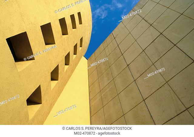 Architecture. Mexico City. Mexico