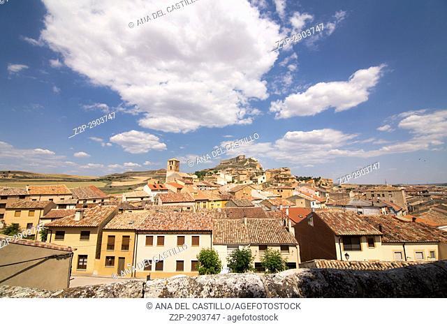 San Esteban de Gormaz village Soria province Castile Leon Spain on June 11, 2017