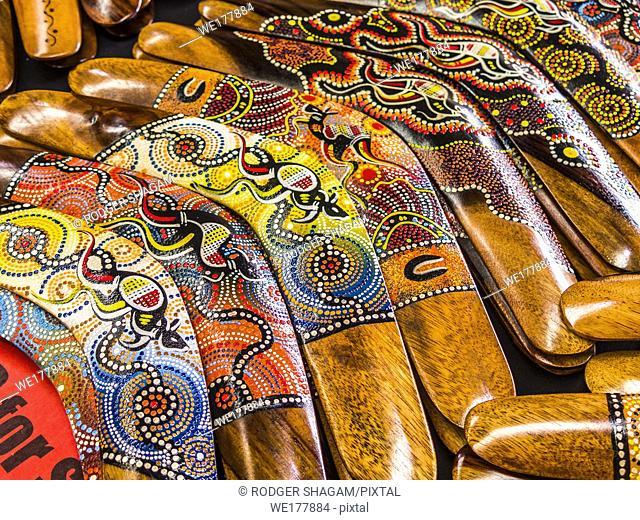 Aboriginal boomeramgs, Australia