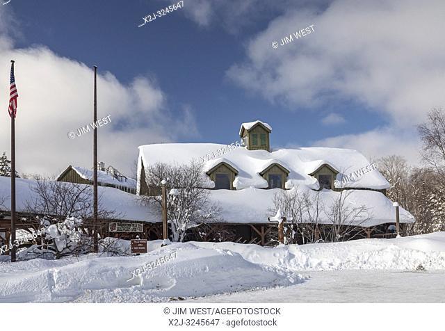 Paradise, Michigan - The Tahquamenon Falls Brewery and Pub in Tahquamenon Falls State Park