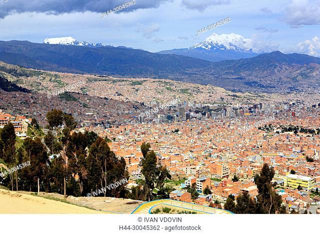 Cityscape from El Alto, La Paz, Bolivia