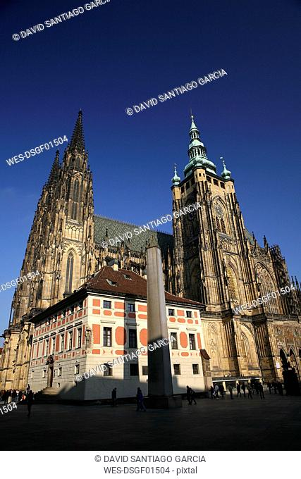 Czechia, Prague, St Vitus Cathedral
