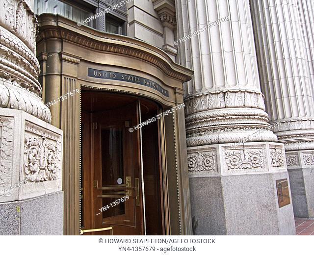 United States National Bank, Portland, Oregon  Historic Bank Building