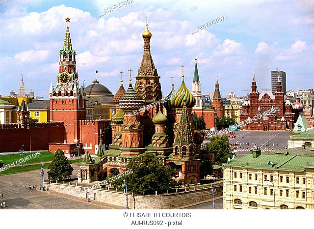 Russia - Moscow - Red Place - Kremlin - St Basile the Blessed