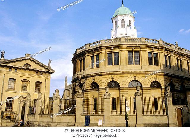Sheldonian Theatre. Oxford. England. Britain. U.K