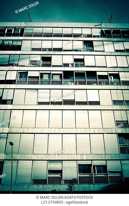 Building apartment. Barcelona, Catalonia, Spain