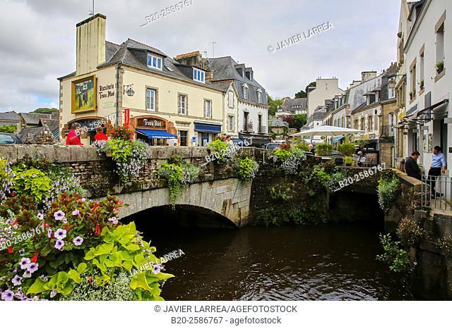 Pont Aven, Finistere, Brittany, Bretagne, France