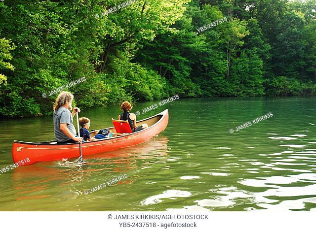 Kayaking on Walden Pond