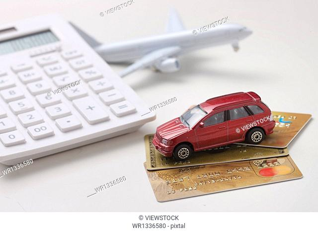 car model calculator bank cards