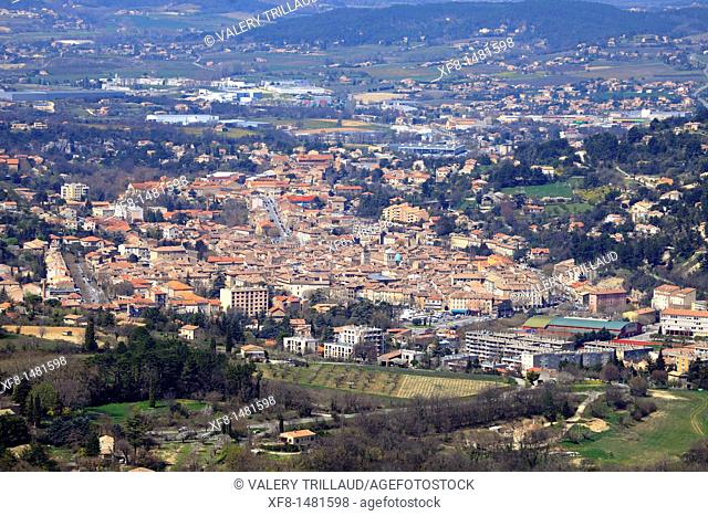 The city of Apt, Vaucluse, Luberon, Provence-Alpes-Côte d'Azur, France