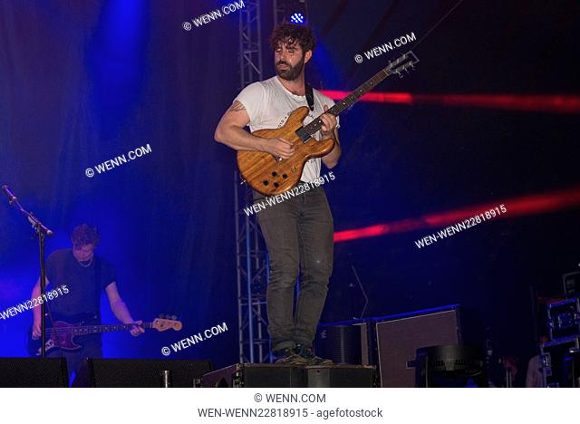 Performances Day 3 Leeds Festival 2015 Featuring: Foals Where: Leeds, United Kingdom When: 31 Aug 2015 Credit: WENN.com
