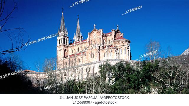 Covadonga basilica. Asturias. Spain