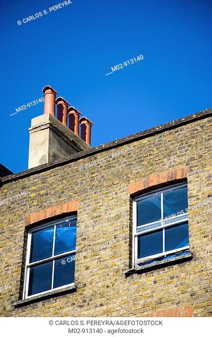 Detail in Portobello Road, Notting Hill, London