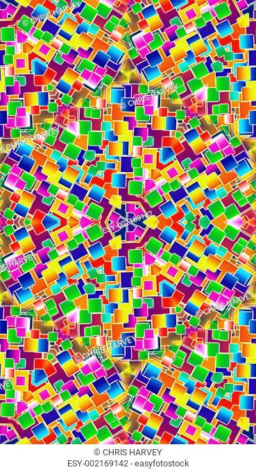 Colour Tile Background