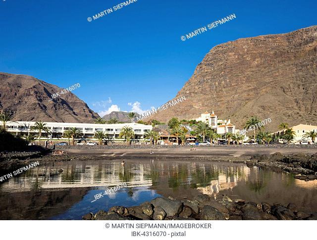 Charco del Conde, La Puntilla, Valle Gran Rey, La Gomera, Canary Islands, Spain