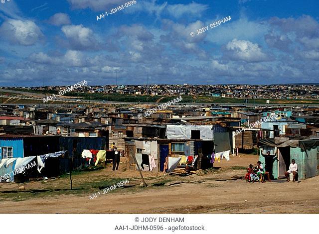 Squatter Camp, Kwadwesi, Port Elizabeth, Eastern Cape, South Africa