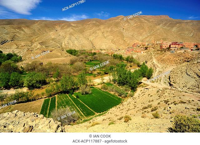 Ait Ben Hammou village, Dades Gorge, Morocco