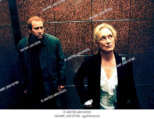 Adaption, (ADAPTATION) USA 2002, Regie: Spike Jonze, NICOLAS CAGE, MERYL STREEP