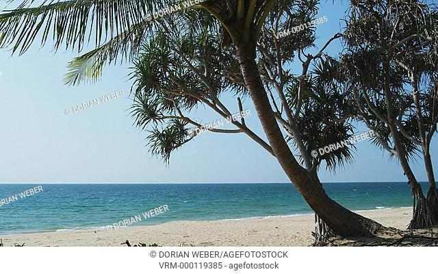 Deserted Beach in Phang Nga