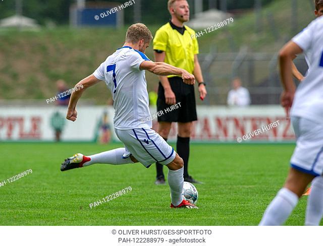Marc Lorenz (KSC) GES / Football / KSC Blitz Tournament: Karlsruher SC - Hertha BSC Berlin, 13.07.2019 Football / Soccer: Short time Tournament: Karlsruhe vs...