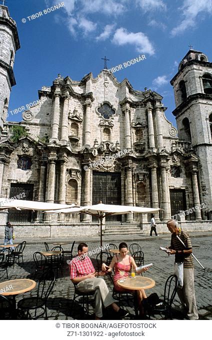 Cuba, Havana, San Cristóbal Cathedral