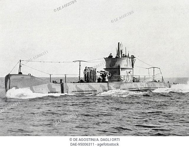Squalo class submarine (launched in 1930), Italy, 20th century. Venice, Naval History Museum