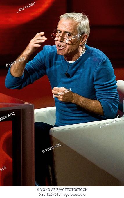 28 11 2010, Milan, 'Che tempo che fa' Telecast RAI 3  Teo Teocoli