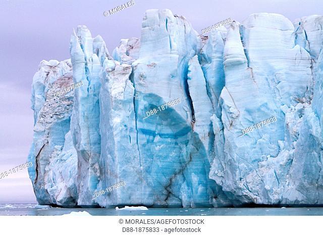 Brasvell's glacier, Nordaustlandet, Svalbard, Norway