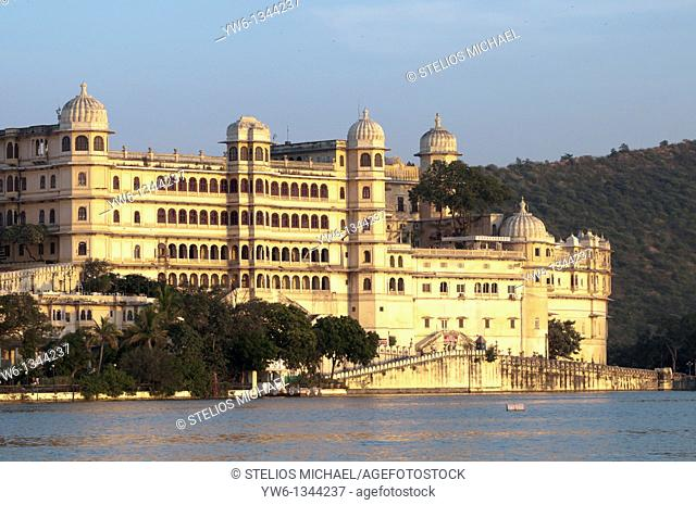 Udaipur City Palace in Rajasthan,India