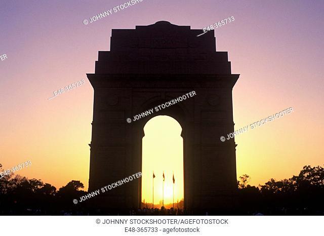 India Gate. New Delhi, India
