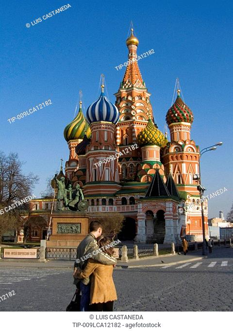 Russia, Moscow, Red Square, St.Basil Cathedral