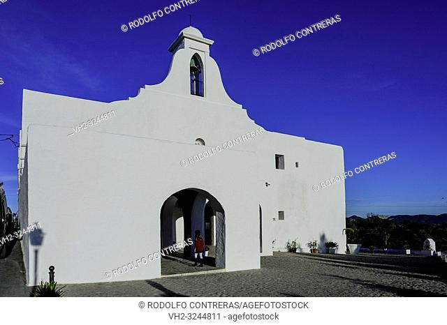The church of San Rafael, Ibiza
