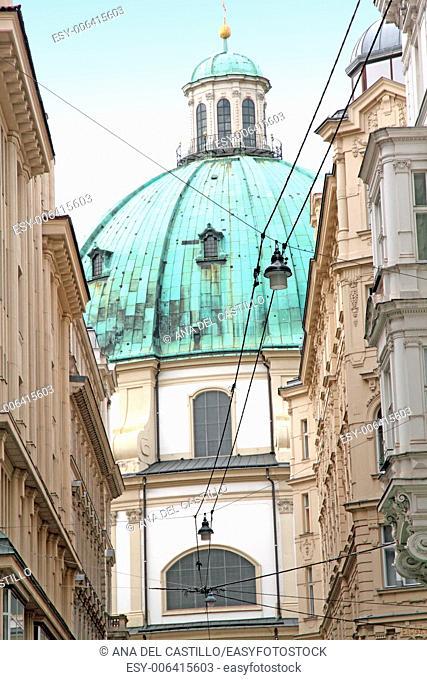 St Peters church Vienna Austria