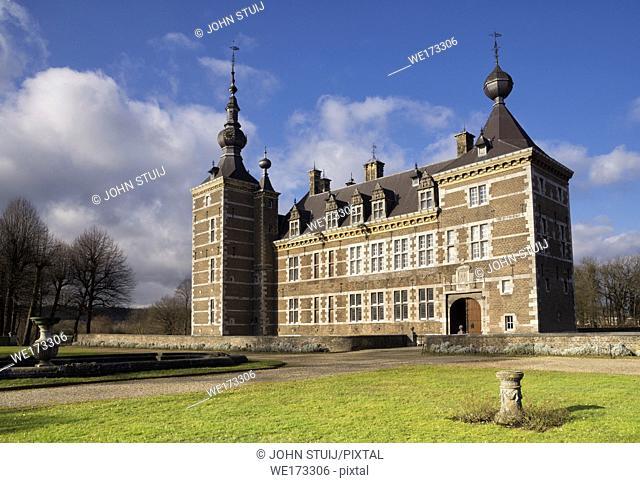 Eijsden Castle between the villages Laag-Caestert and Eijsden in the Dutch province Limburg