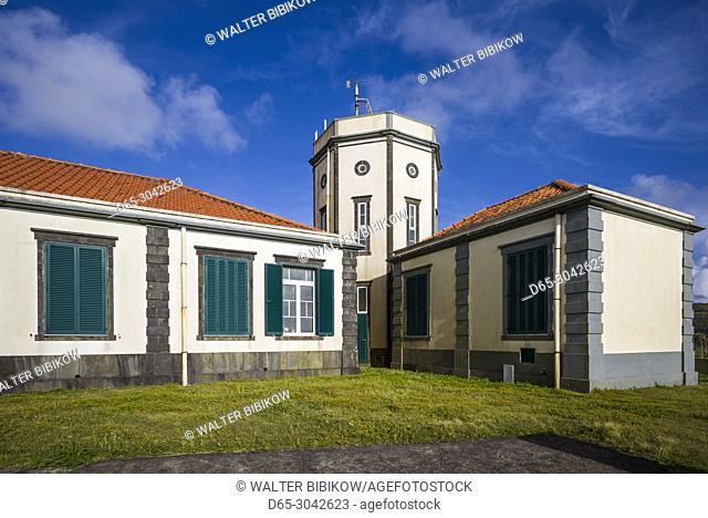 Portugal, Azores, Faial Island, Horta, the Observatorio Principe Alberto de Monaco observatory