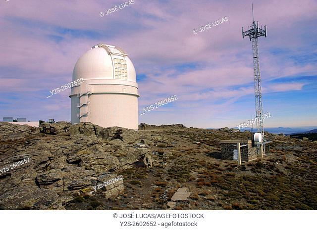 Calar Alto Astronomical Observatory (German-Spanish), Almeria province, Region of Andalusia, Spain, Europe