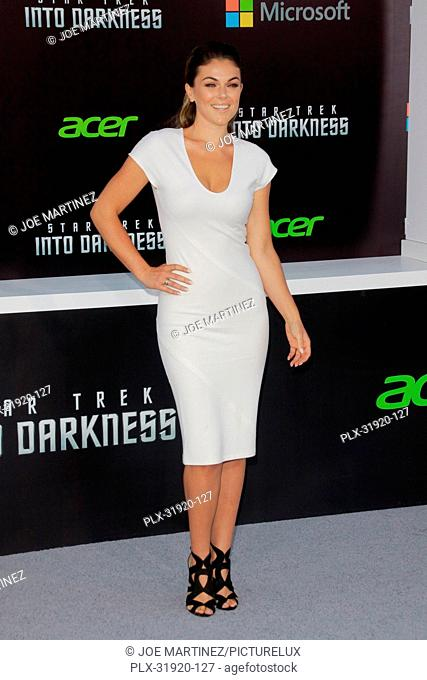 Serinda Swan at the Premiere of Paramount Pictures' Star Trek Into Darkness. Arrivals held at Dolby Theater in Hollywood, CA, May 14, 2013