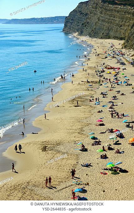 Europe, Portugal, Algarve, Lagos, Porto de Mos beach