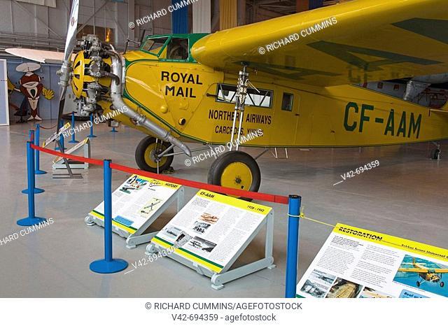 Fokker Super Universal, Western Canada Air Museum, Winnipeg, Manitoba, Canada