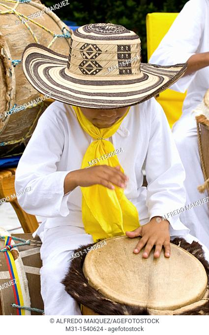 Young Musicians, November Independence festivities, Cartagena de Indias, Bolivar Department, Colombia, South America