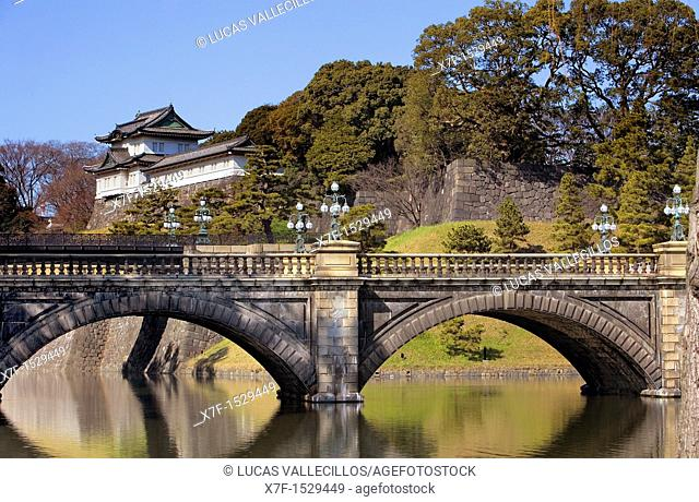 Imperial Palace Tokyo city, Japan, Asia