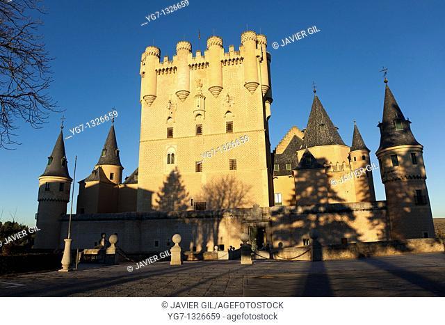Alcazar of Segovia, Castilla y Leon, Spain